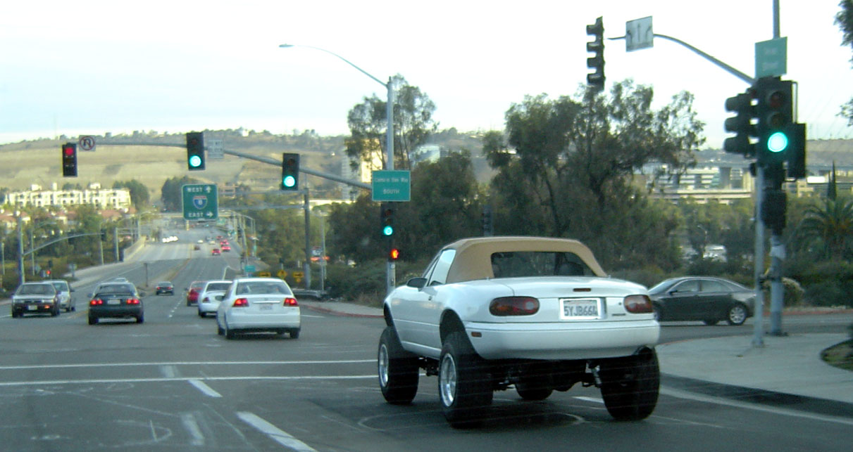 secret AWD Mazda Miata prototype spotted